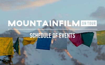 Mountainfilm Schedule of Events